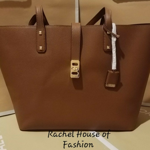Michael Kors Karson Large Carryall Tote Leather Ba Boutique